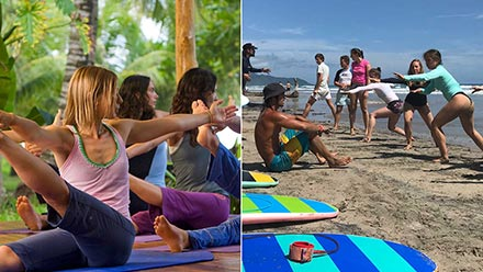 Surf & Yoga i Costa Rica